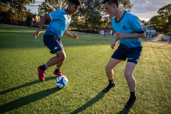 soccer training Sydney